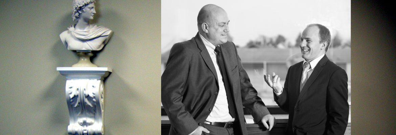 Thomas Retzlaff und Andreas Leitenberger